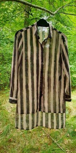H&M Basic Marynarka koszulowa Wielokolorowy