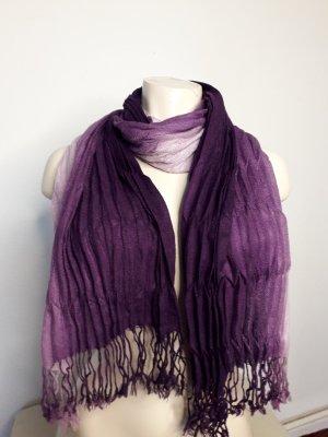 Pañoleta rosa-púrpura Poliéster
