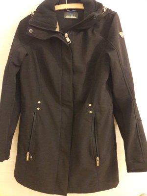 Luhta Manteau à capuche noir polyester