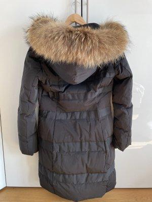 Max & Co. Hooded Coat black