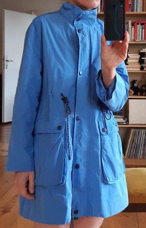 H&M Impermeabile pesante azzurro-blu fiordaliso Poliestere