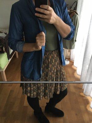 aus Italien Blazer en jean bleuet
