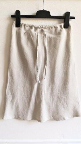 H&M Linen Skirt oatmeal linen