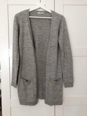 Leichter Long Cardigan Grau Pieces