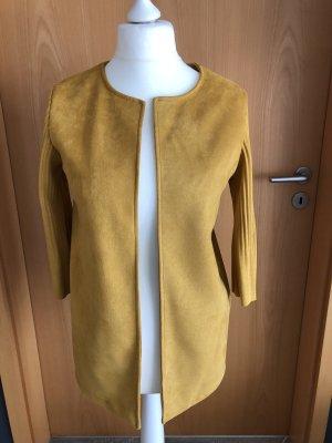Short Coat gold orange