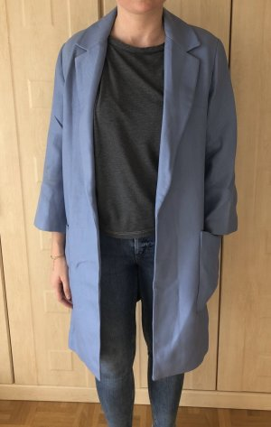 Zara Woman Abrigo ancho multicolor