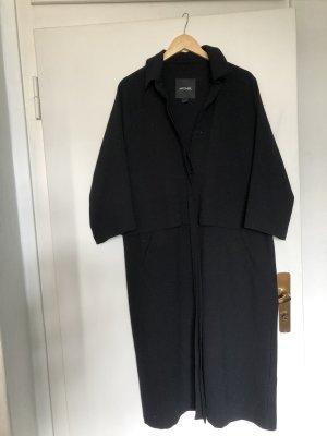 Monki Abrigo ancho negro