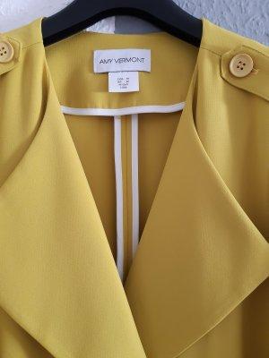 Amy Vermont Płaszcz przejściowy żółty