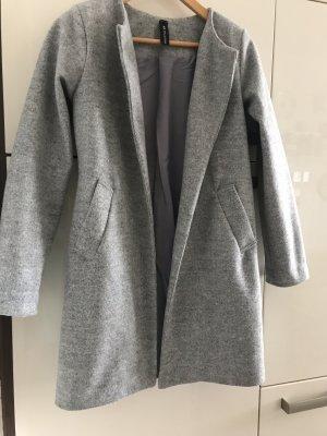 New Collection italy Krótki płaszcz szary