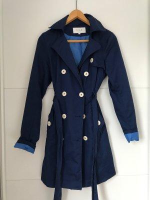 Leichter Mantel in Marineblau