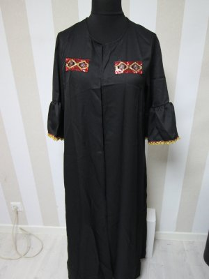Leichter Mantel Jacke Kimono Pailletten Festival