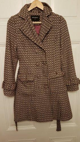 leichter Mantel mit abnehmbaren Kunstfell