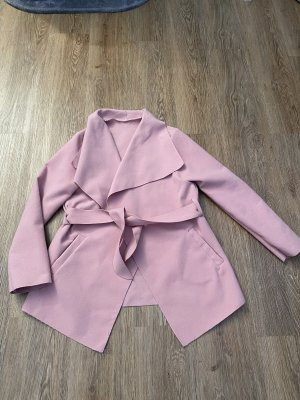 Made in Italy Short Coat rose-gold-coloured