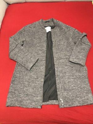 Esprit Cappotto in pile grigio