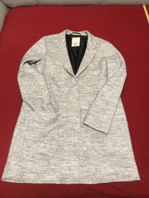 Esprit Cappotto in pile argento-grigio chiaro