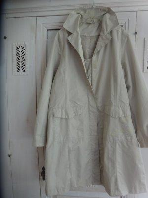 Blue Motion Zware regenjas wit-licht beige Polyester