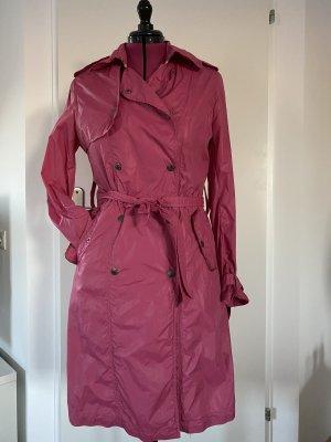 Blaumax Trench Coat pink nylon