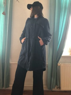 French Connection Parka dark blue