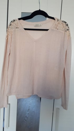 Abercrombie & Fitch Pull en maille fine rose clair