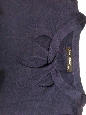 Pullover in cashmere blu scuro