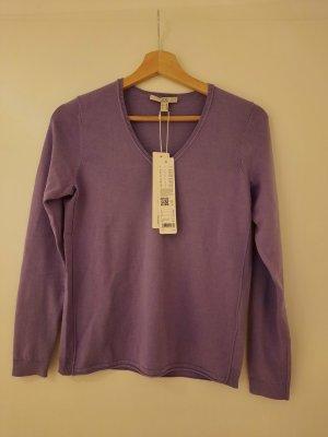 Leichter Pullover fliederfarben