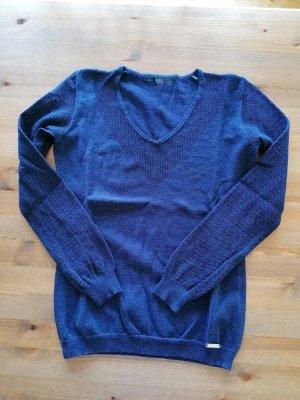 Guess V-Neck Sweater blue-dark blue