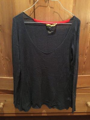 Dear Cashmere Jersey largo azul oscuro