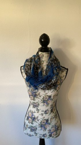 H&M Fringed Scarf multicolored