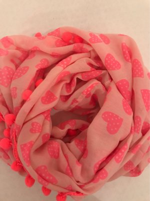 0039 Italy Tube Scarf neon red