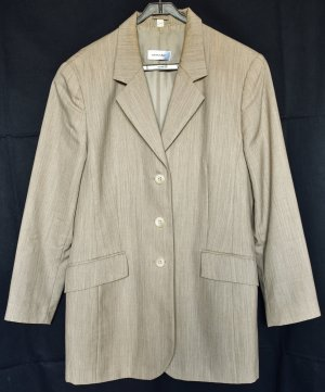 Amalfi Long Blazer beige new wool