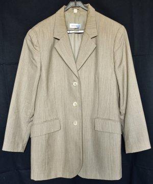 Amalfi Lange blazer beige Scheerwol
