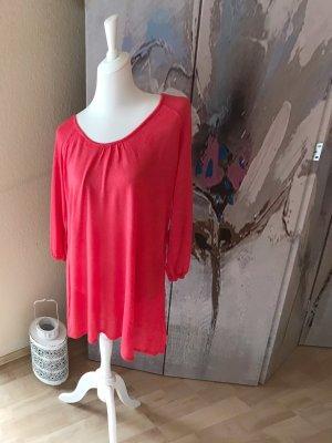 Keine Marke Długi sweter jasnoczerwony