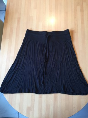 Beach Time Midi Skirt black