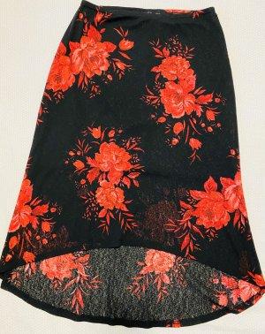 C&A Clockhouse Asymmetry Skirt multicolored