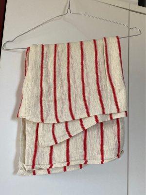 H&M Chal veraniego rojo-beige claro