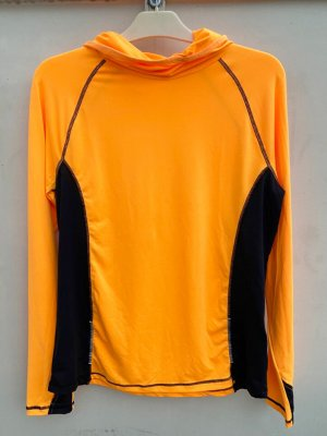 Crivit Neckholder Top orange polyester