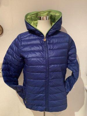 Outdoor jack blauw-groen