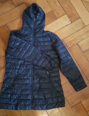 Street One Quilted Coat dark blue-blue polyester