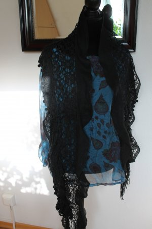 Crochet Scarf black