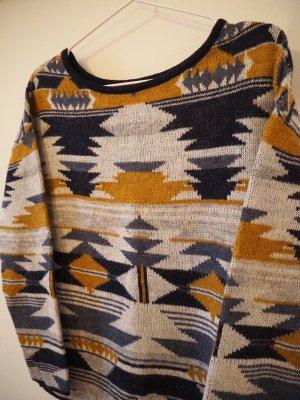 Evaw Wave Jersey de cuello redondo multicolor Acrílico