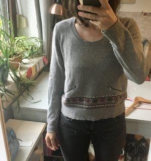 Promod Sweter z okrągłym dekoltem Wielokolorowy Angora