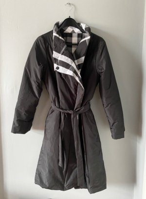 Luukaa Gewatteerde jas wit-zwart Polyester