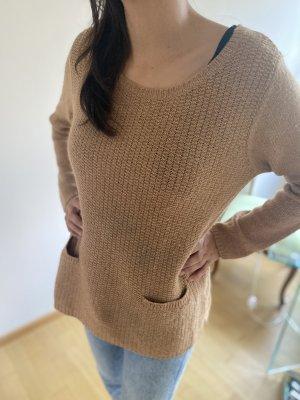 Custommade Crewneck Sweater apricot-beige