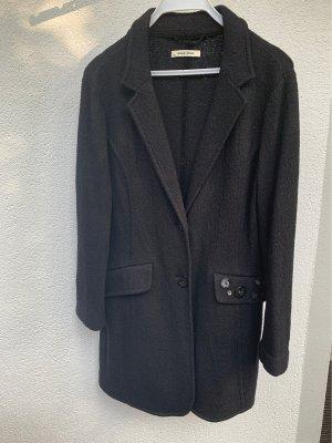 More & More Manteau en laine noir