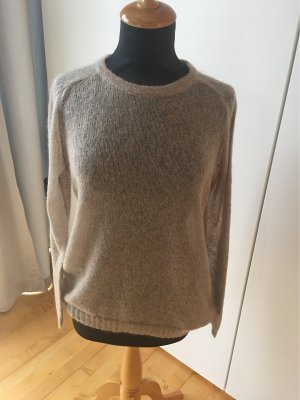Delicate Love Fine Knit Jumper beige mohair