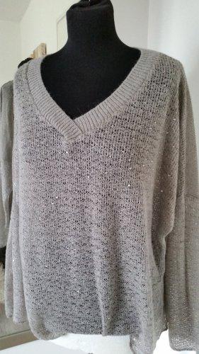 Haut tricotés gris vert