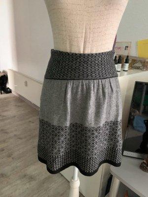 Promod Falda de lana multicolor