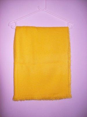 Primark Bufanda de lana amarillo