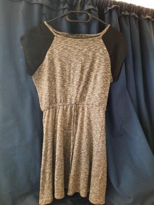 Athmosphere Sukienka z krótkim rękawem czarny-szary
