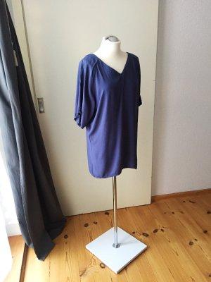 24Colours Robe chemisier bleuet-bleu acier